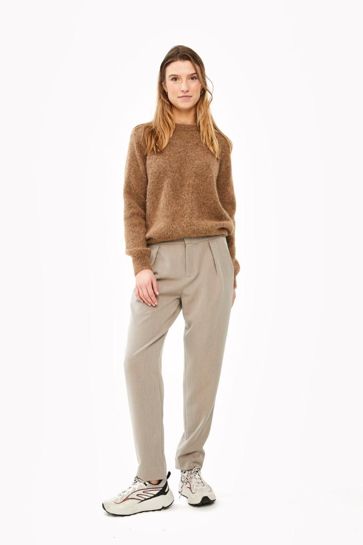 lana organic pullover - camel 3