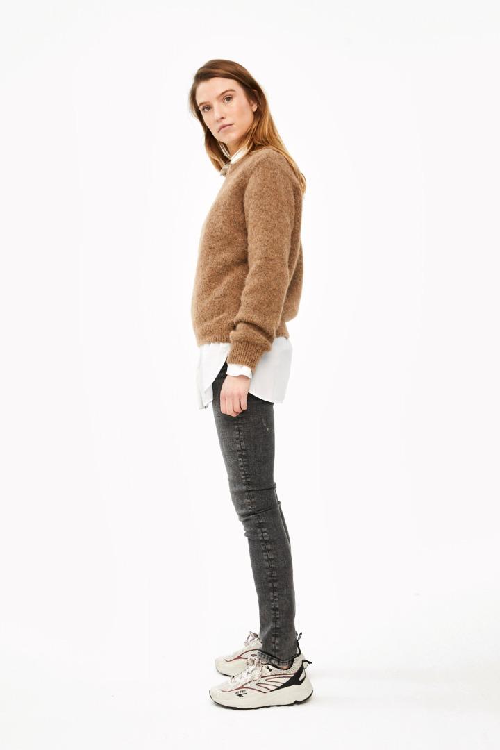 lana organic pullover - camel 4