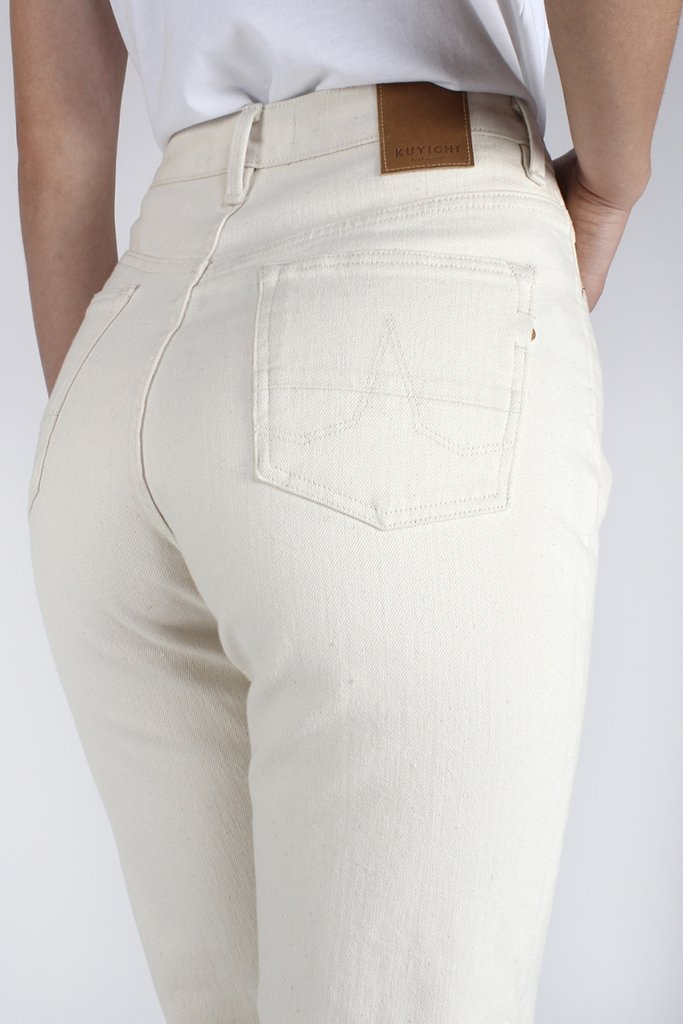 Nora Loose Tapered Undyed 4