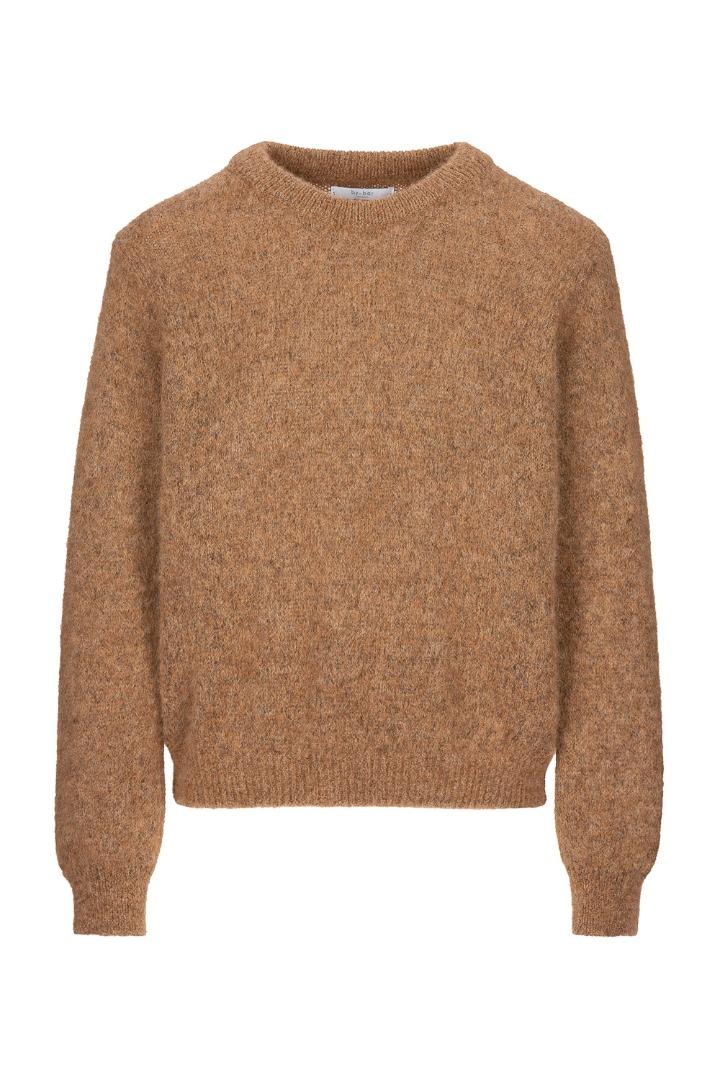 lana organic pullover - camel 6