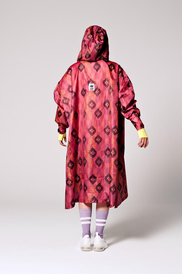 Rainkiss - Ikat - Rain Poncho