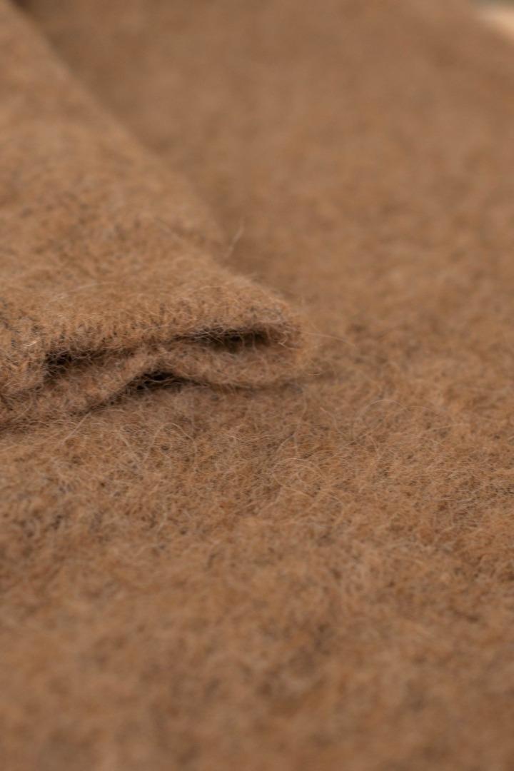 lana organic pullover - camel 5
