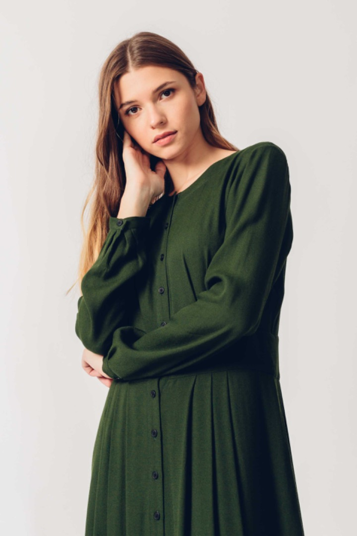 HAIZEA DRESS - Green 3