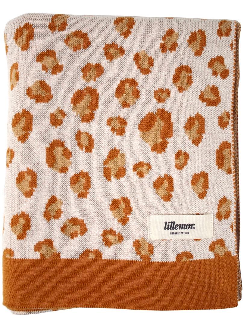Blanket leopard/brown
