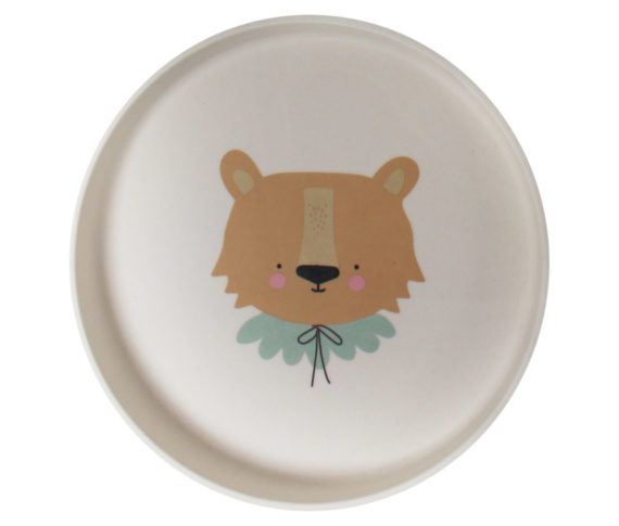 Bamboo Eco Dinner Set Lion