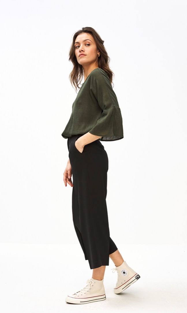 eef blouse - forest night 2