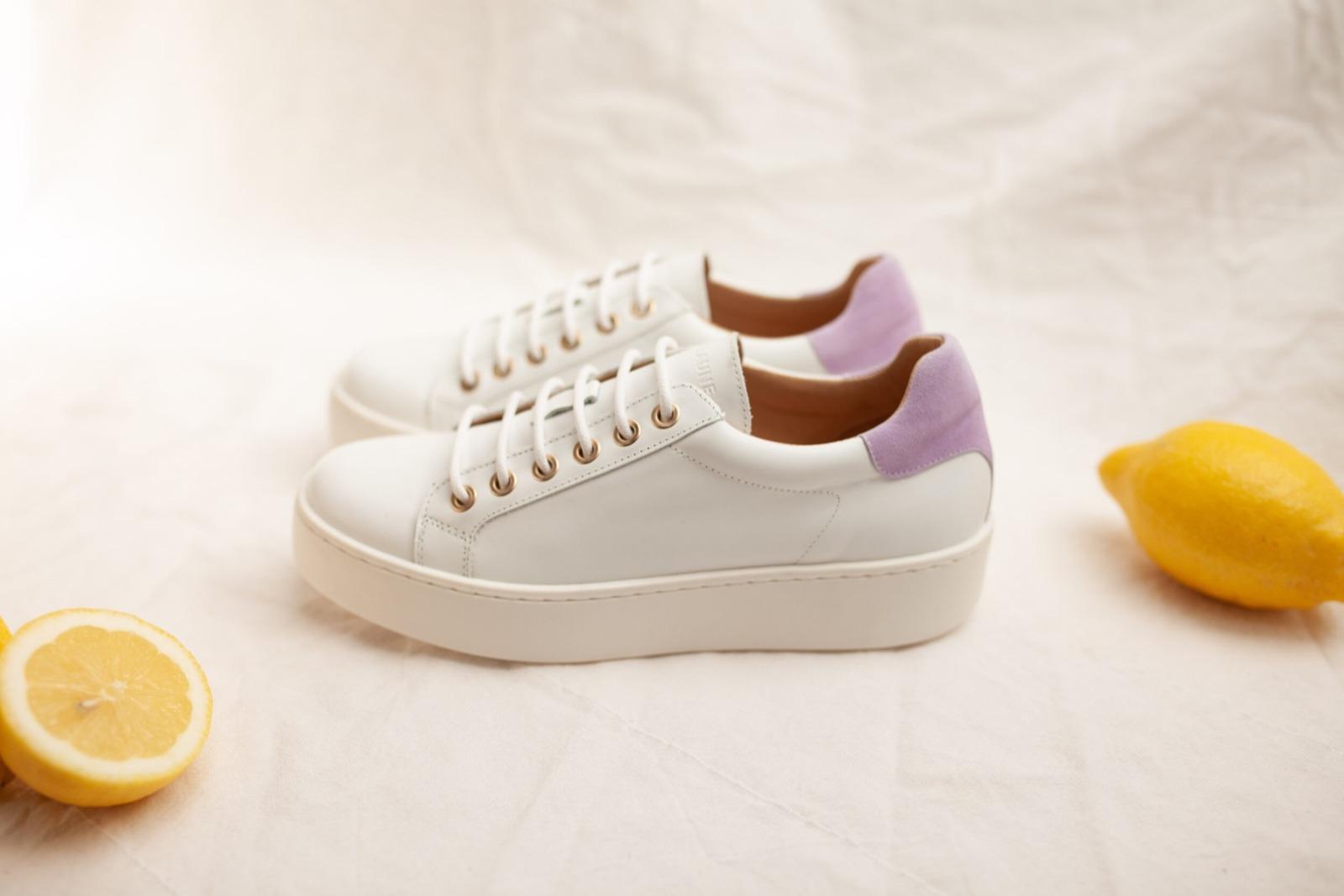 TENNIS SNEAKER - white/lilac