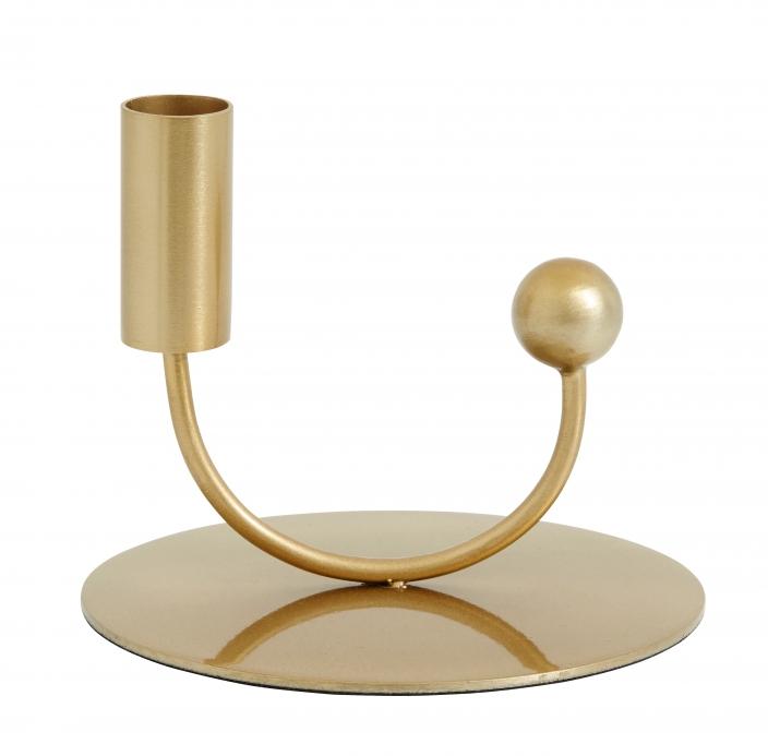 NORDAL - JUPITER candle holder brass