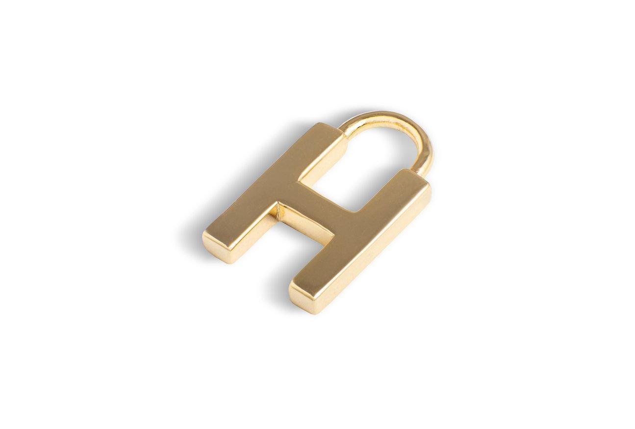 Anhänger Basic Letter 12