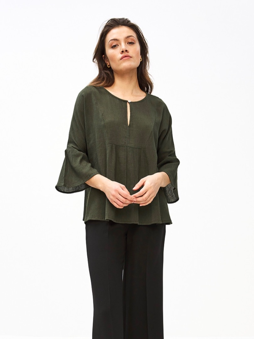 eef blouse - forest night 4