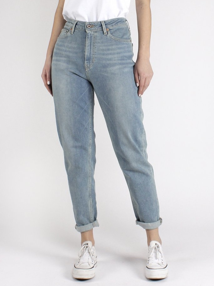 NORA Slim High Waist Faded Blue