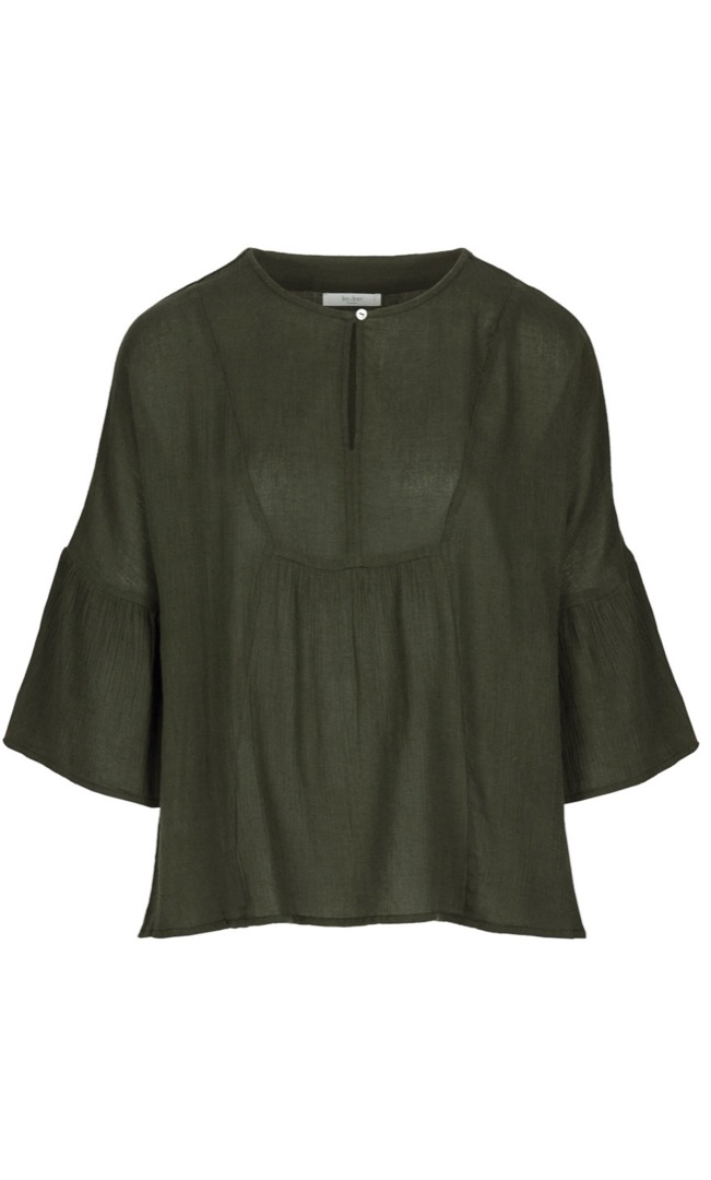 eef blouse - forest night 6