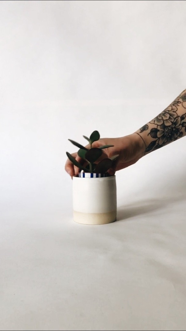 Mykonos Ceramic Candle 3