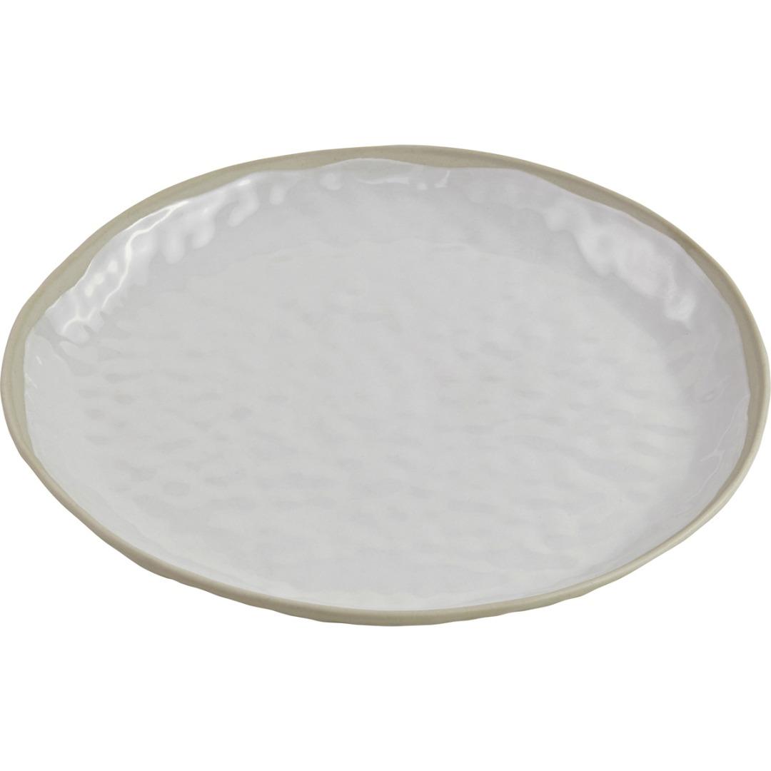 Teller BLANC Keramik weiß 25cm
