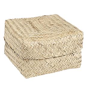 Graskorb mit Deckel