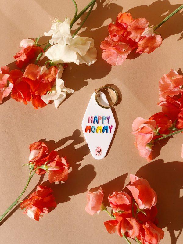 Schlüsselanhänger - Happy Mommy