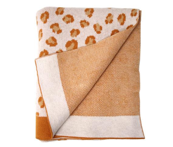Blanket leopard/brown 2