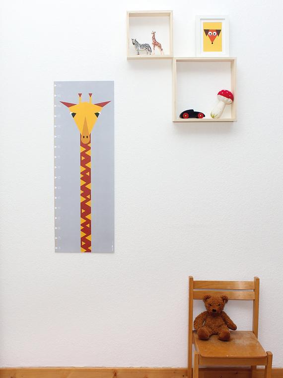 Messlatte / Poster Giraffe