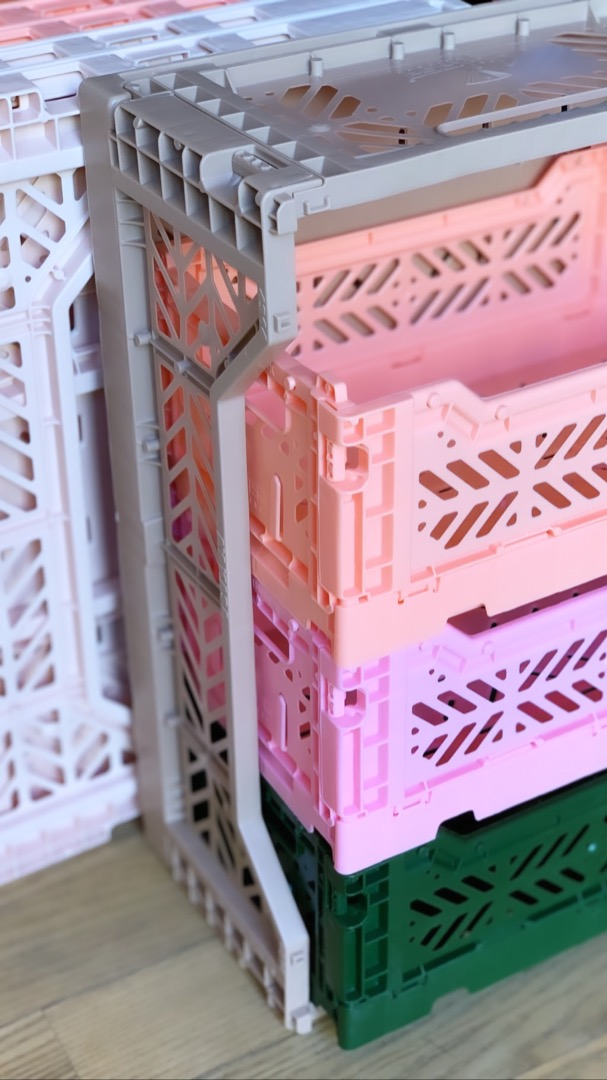 Midi Storage Box - Baby Pink