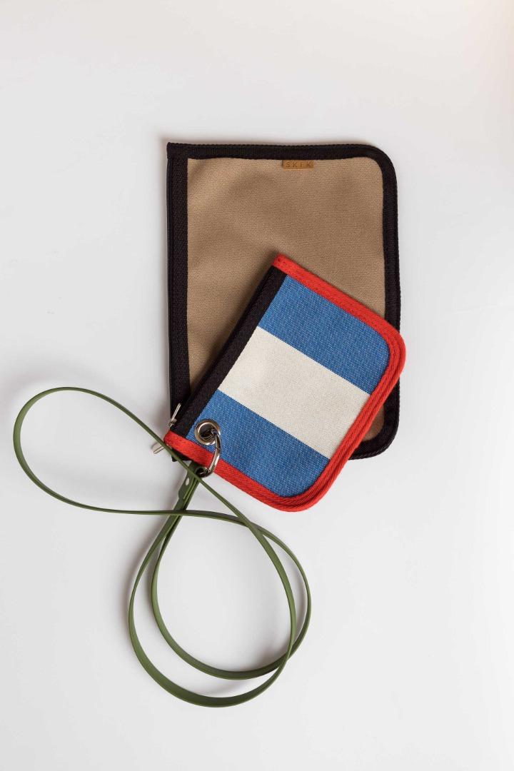 SKFK - NIRA BAG blue stripes