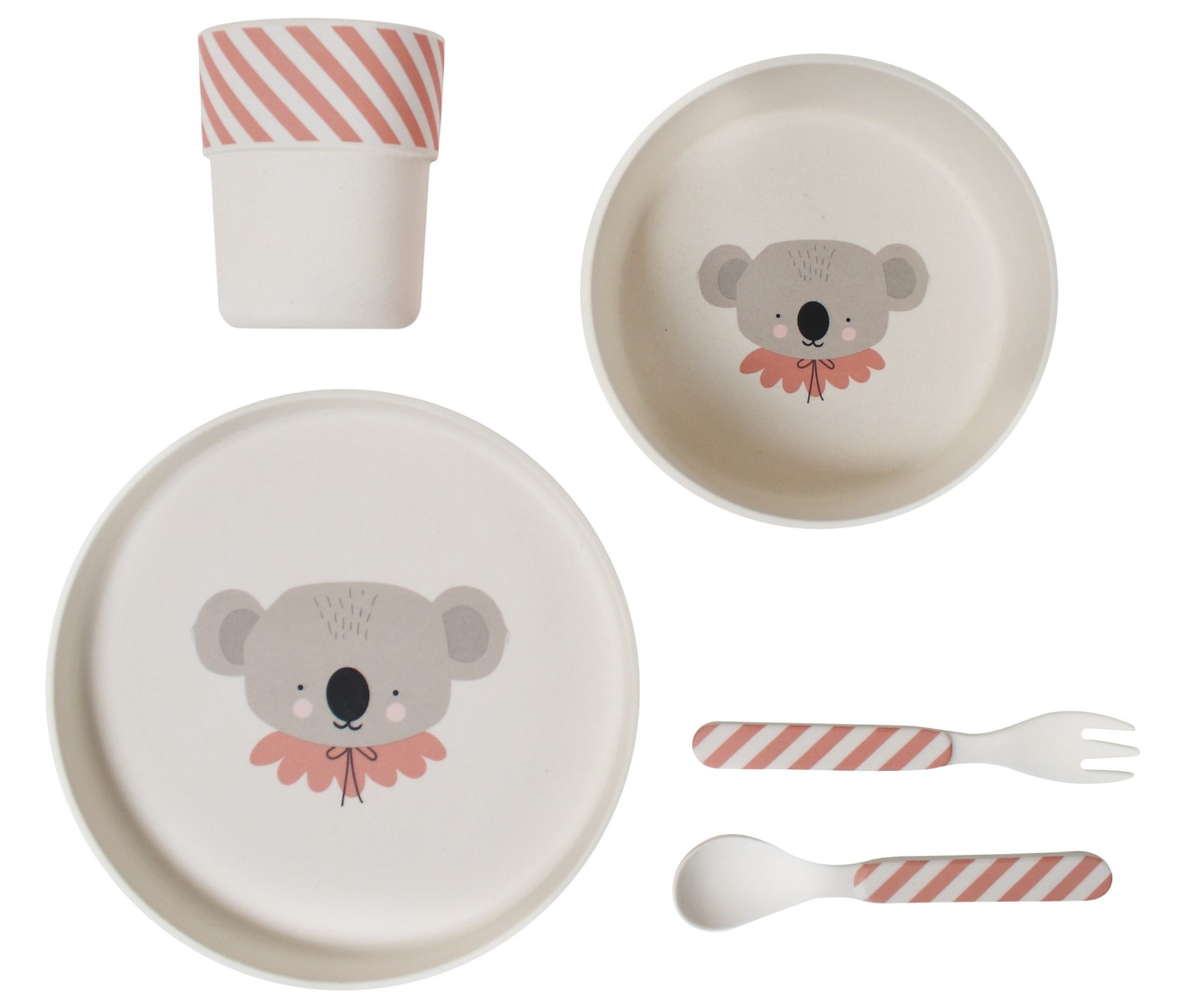 Bamboo Eco Dinner Set Koala