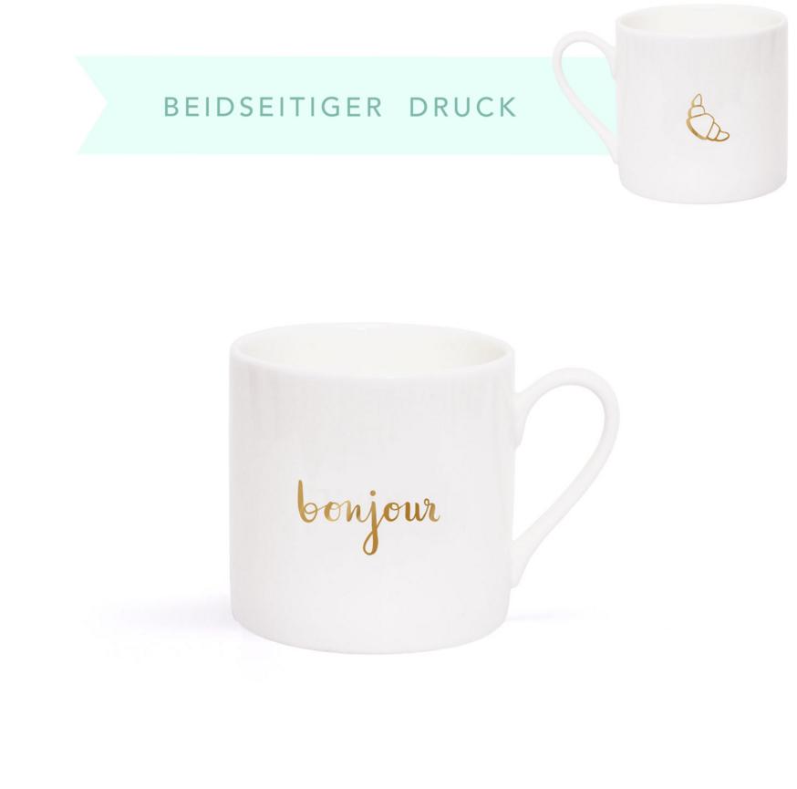 Fine Bone Espresso-Becher - Bonjour