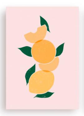 Postkarte - Aprico