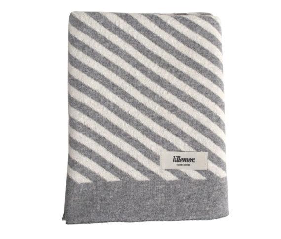Blanket stripes/grey