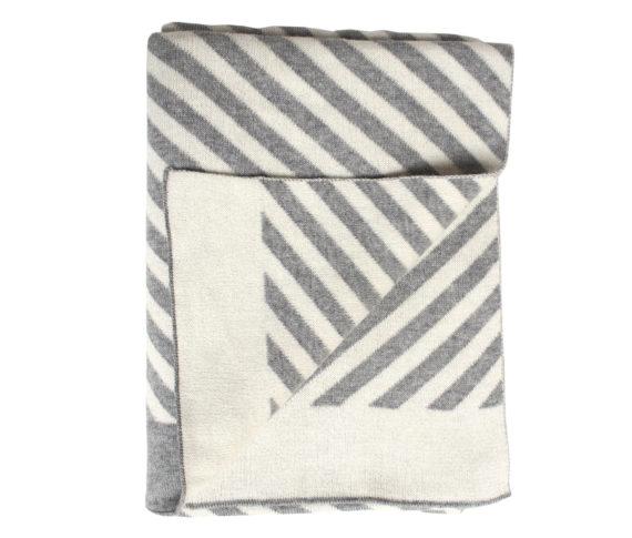 Blanket stripes/grey 2