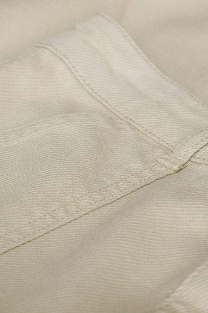 smiley twill pant - sand 4