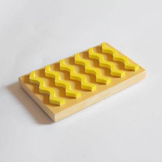 Seifenablage 2 Farben - Ocker/Gelb