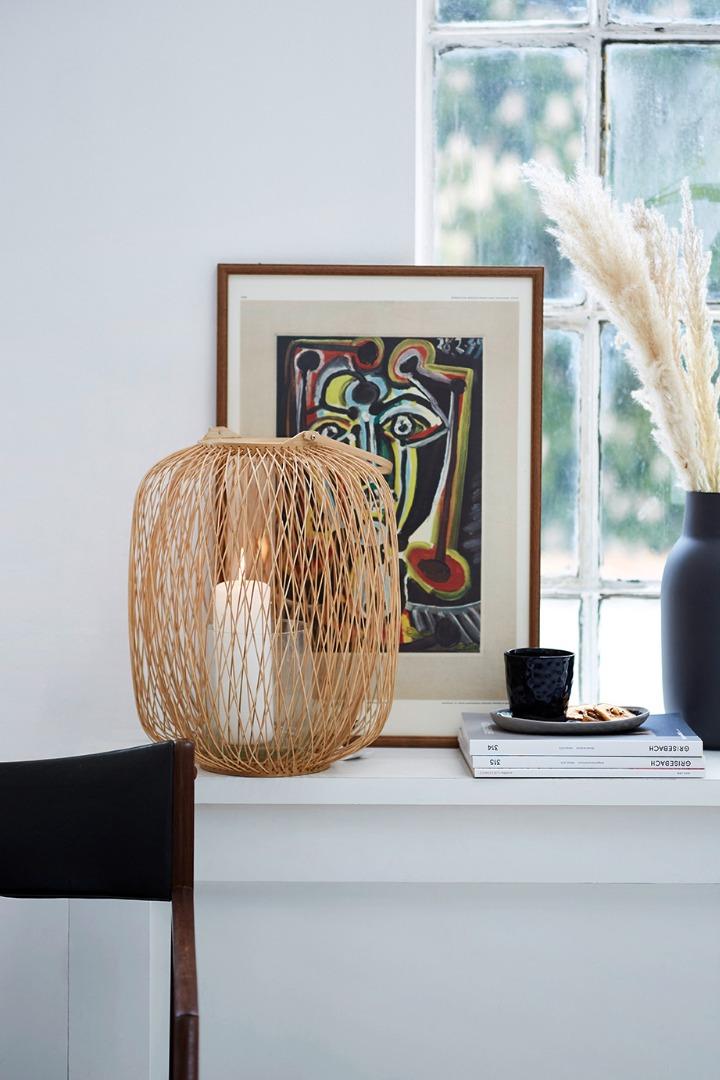 Liv interior Laterne aus Bambus 35x65cm
