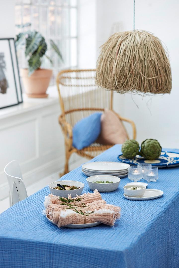 Liv interior Serviette AURA Biobaumwolle Mintgrün