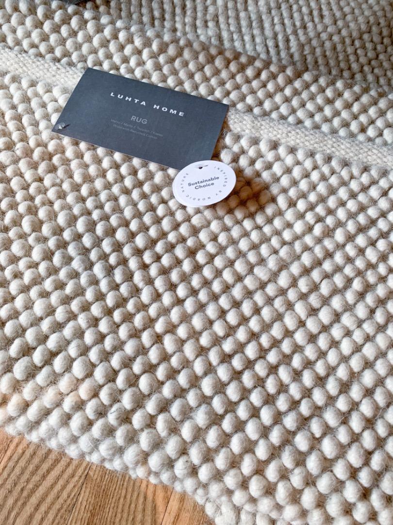 Luhta Home Carpet Luuppi Rug Maxi