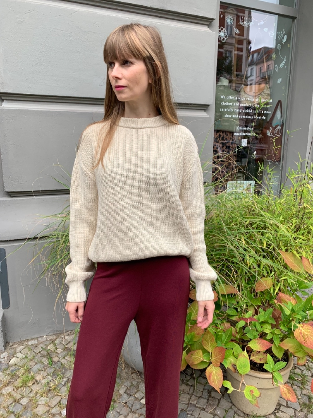 Givn Berlin Strickpullover ARIA Off White
