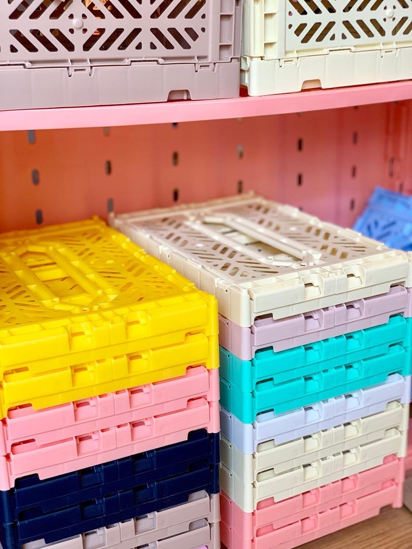 AyKasa Mini Storage Box - Salmon