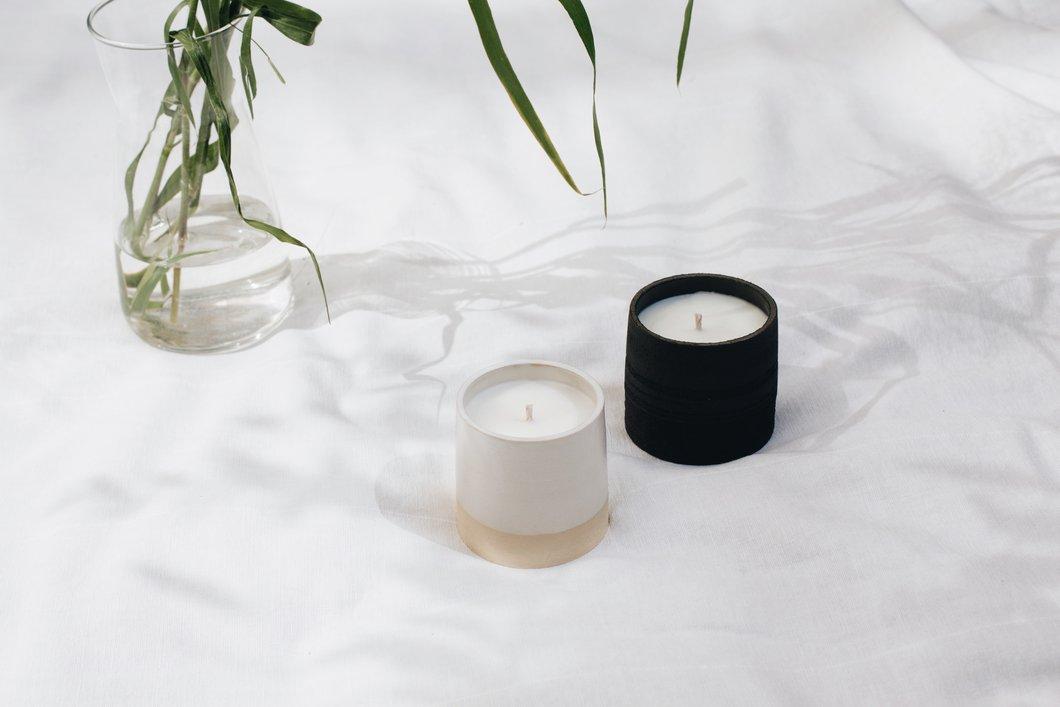Mykonos Ceramic Candle 2