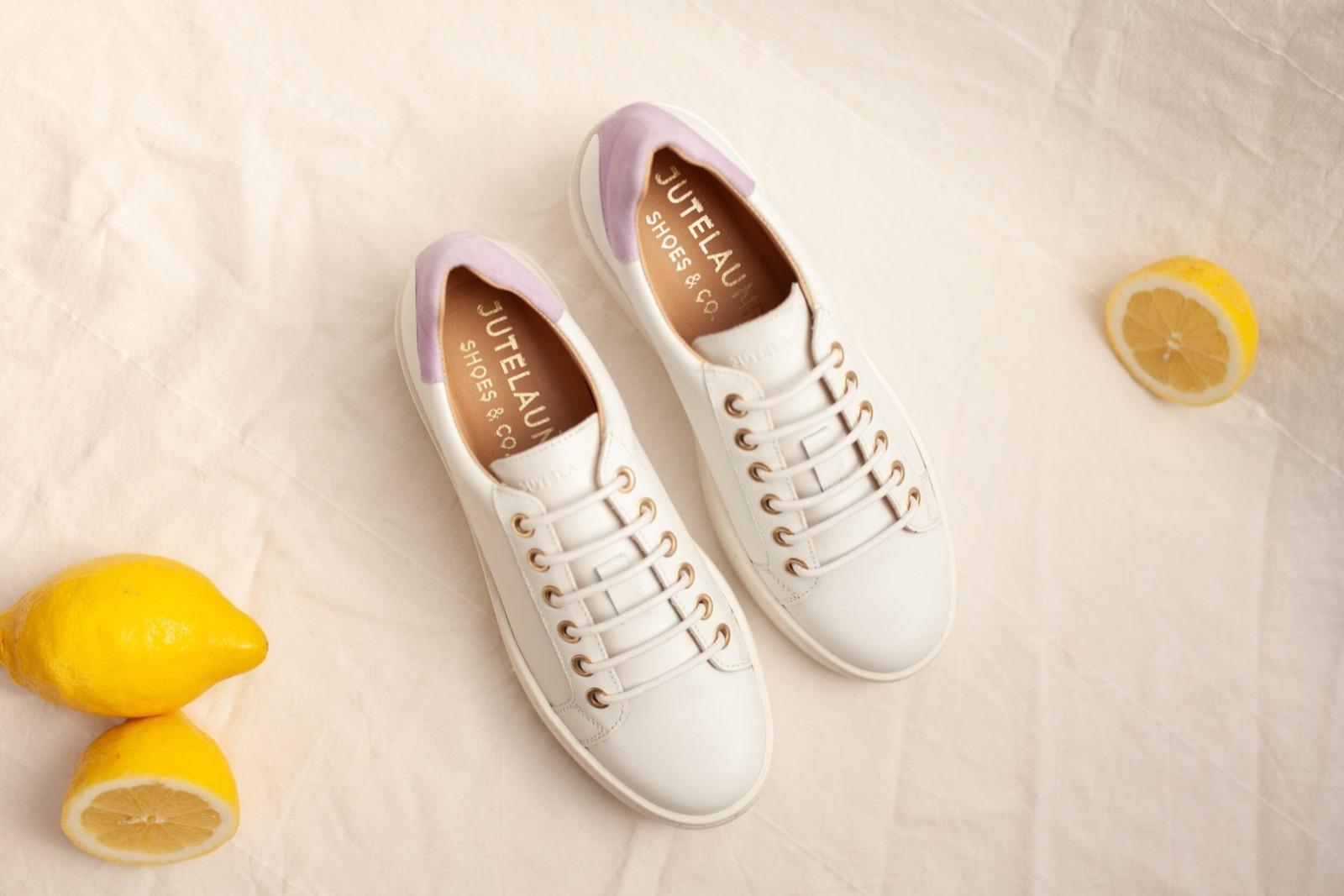 TENNIS SNEAKER - white/lilac 5