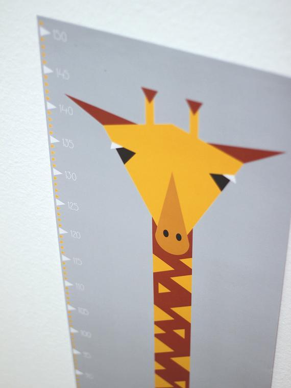 Messlatte / Poster Giraffe 2