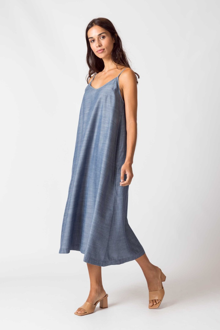 SKFK - URBIA Dress light blue