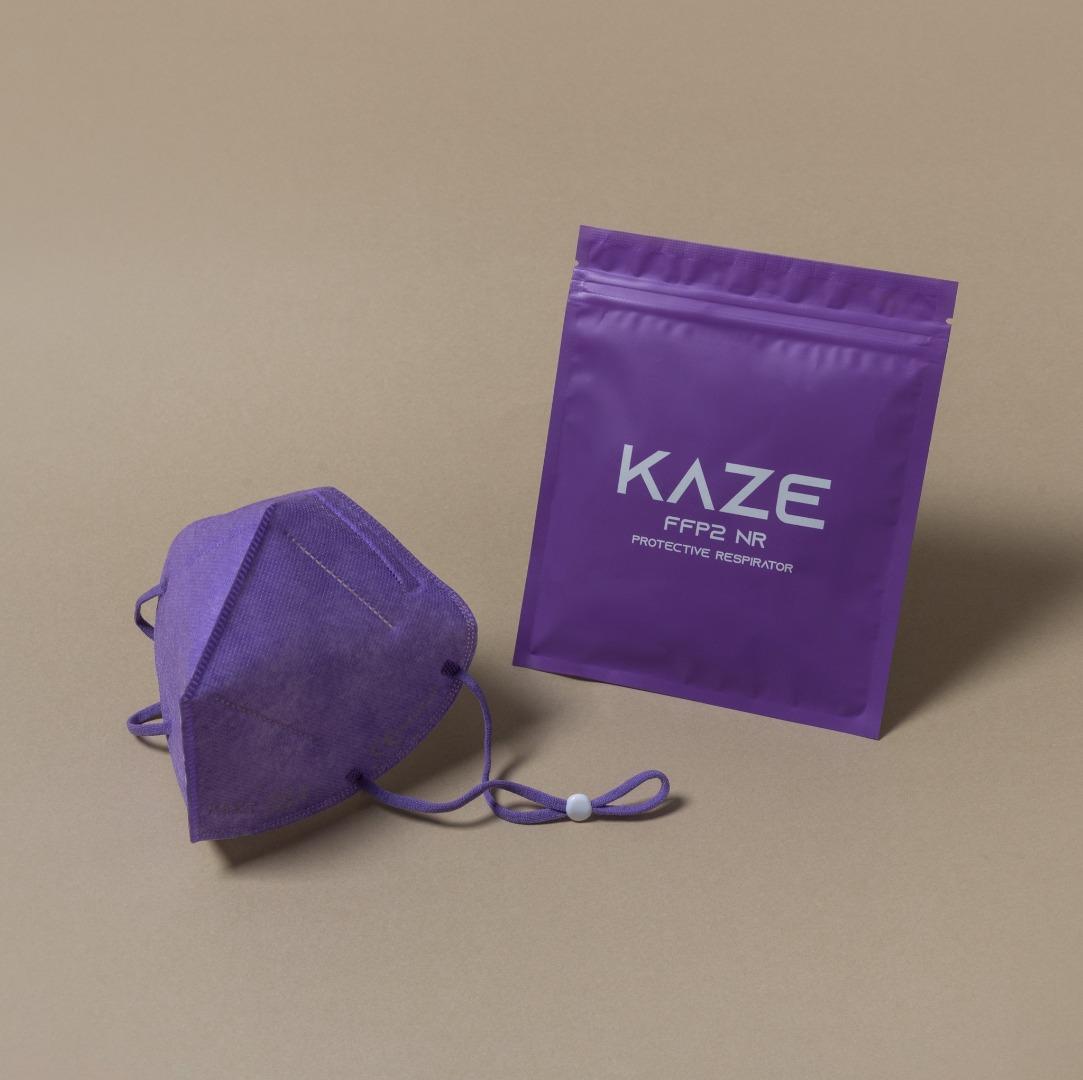 KAZE - FFP2 Maske - Ultraviolet