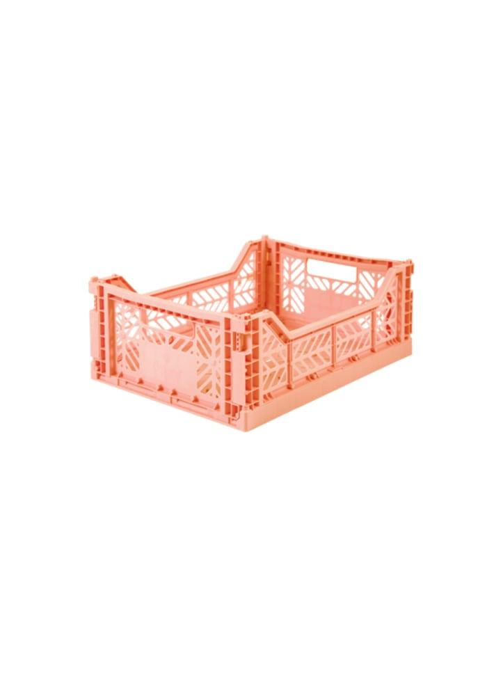 AyKasa Midi Storage Box - Salmon