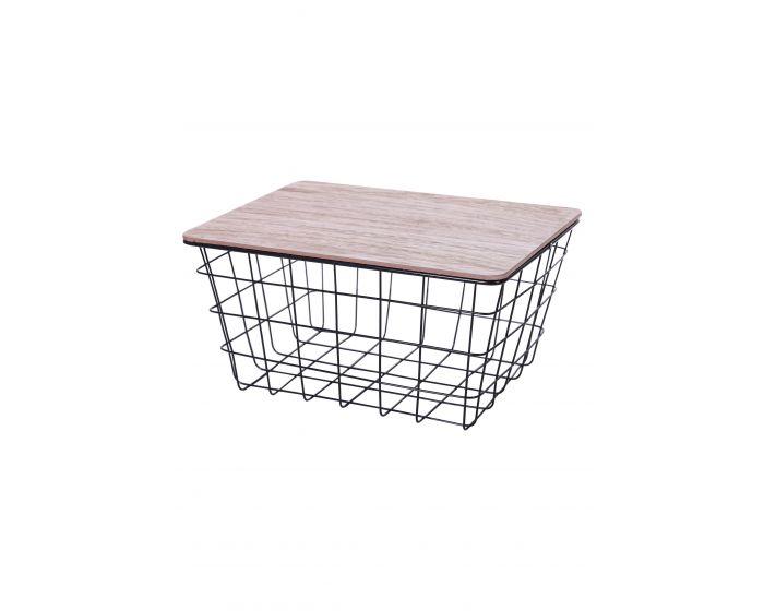 Basket klein - Metallinen schwarz