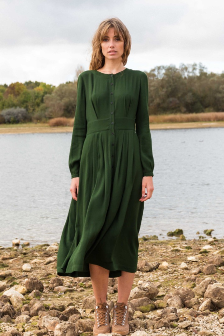 HAIZEA DRESS - Green