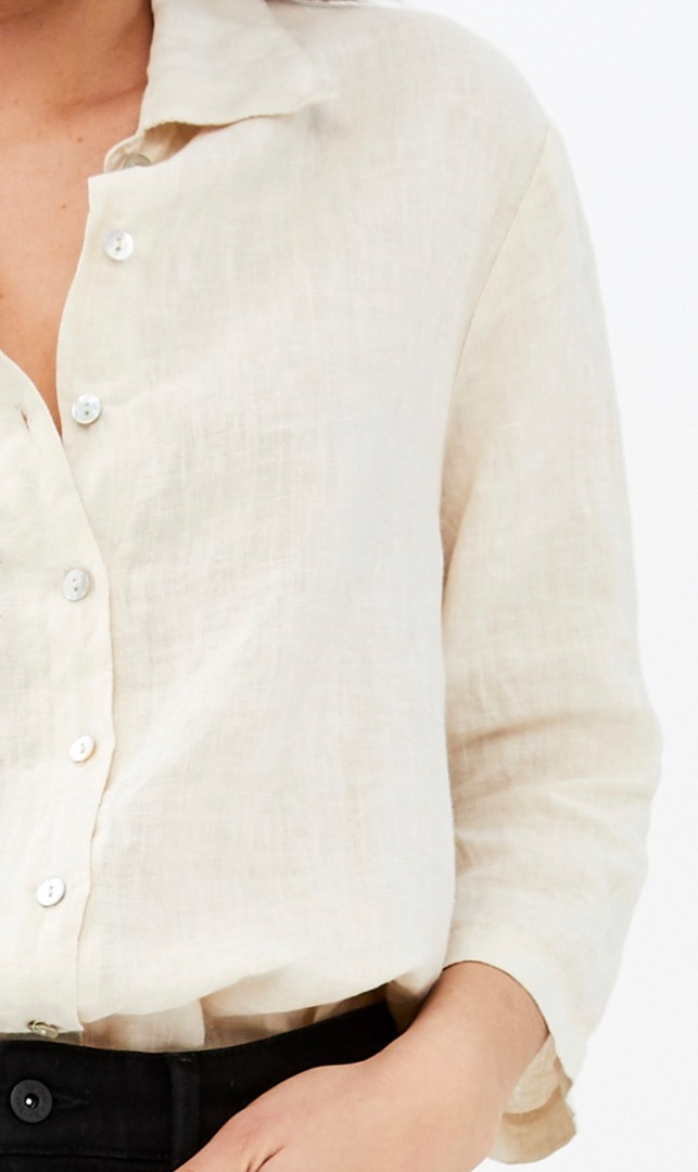 bodil linen blouse - linen 5