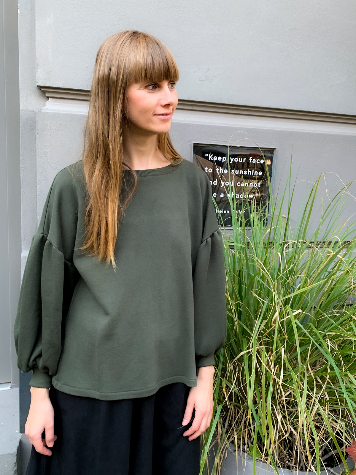 MIO ANIMO SWEET CUT SWEAT Forest