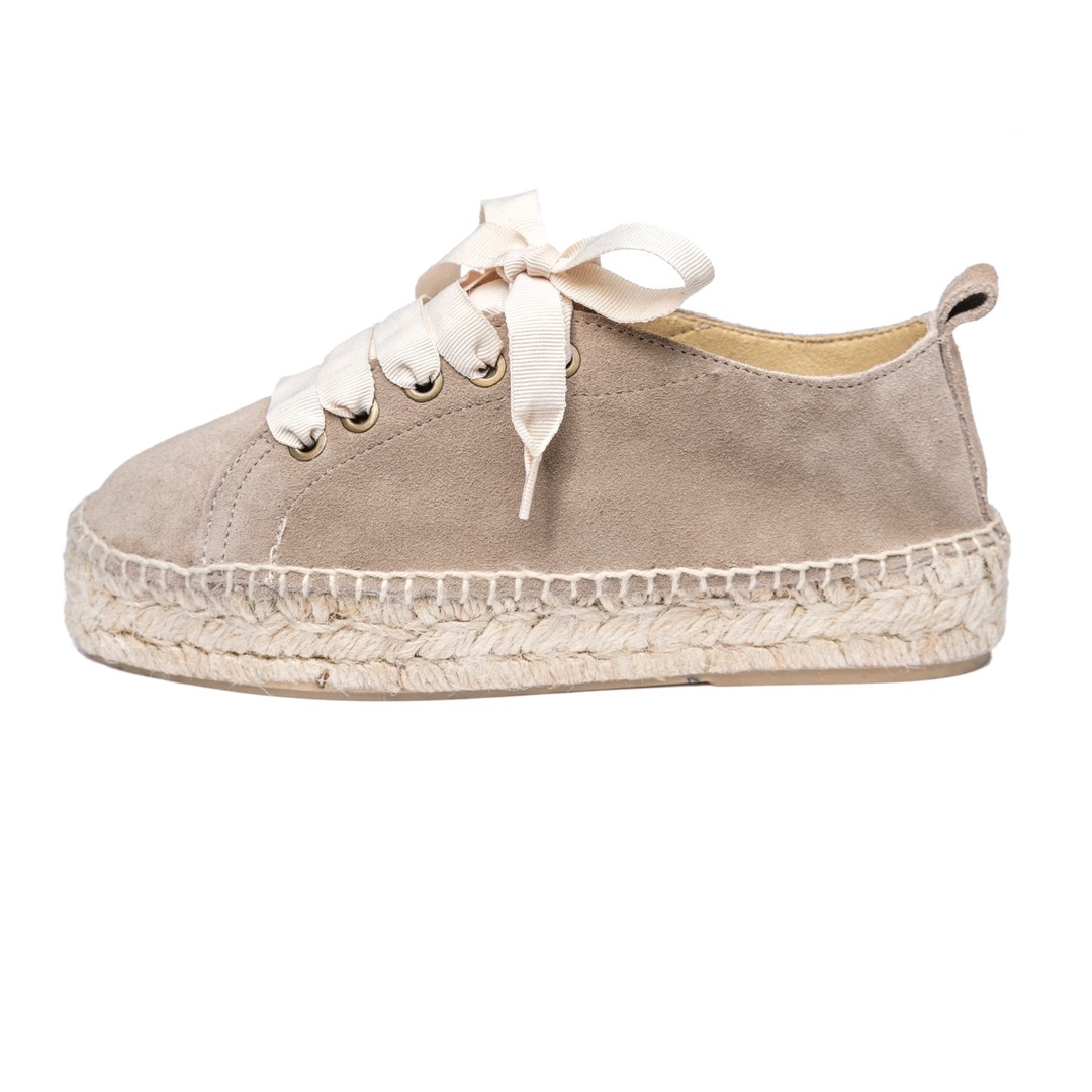 TAUPE ESPADRILLE SNEAKER 3