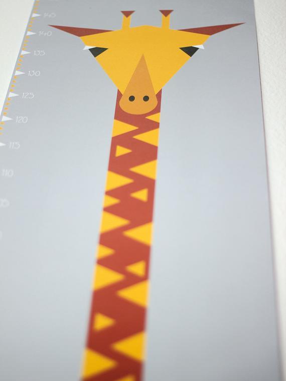 Messlatte / Poster Giraffe - 3