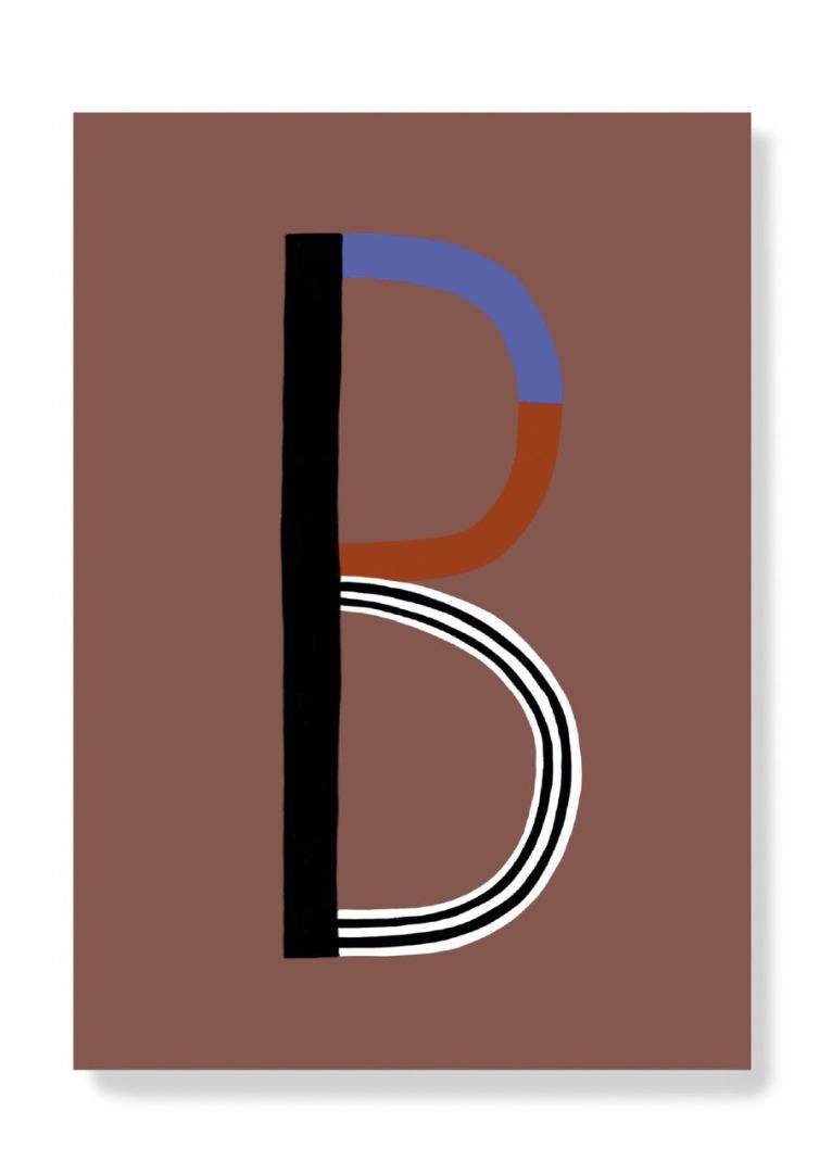 Postkarte - B