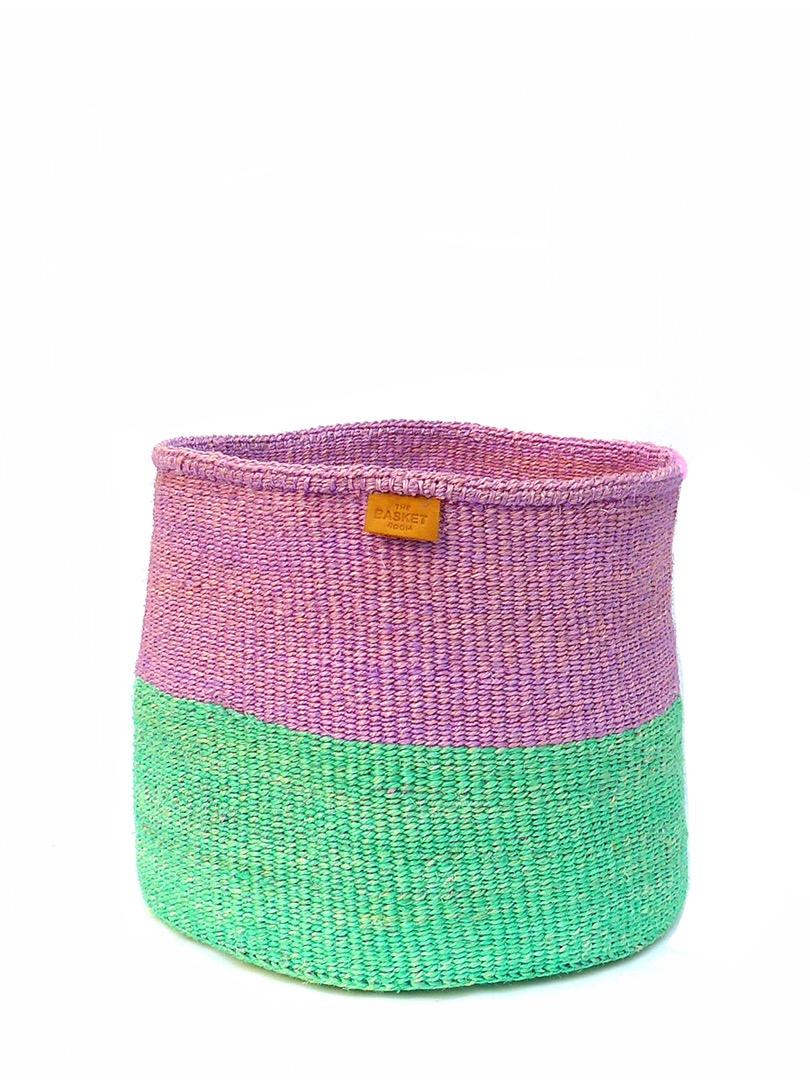 Storage Basket M Lila/grün